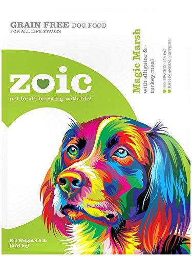 Wild Calling! 4.5 lb Zoic Magic Marsh Alligator & Turkey Dog Food, Medium