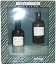 Geoffrey Beene Grey flannel by geoffrey beene for men - 2 Piece gift set 4 ounce edt splash & 4 ounce after shave lotion, 4 F