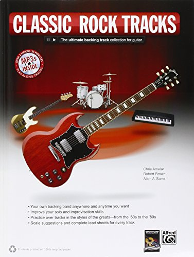 Rock Guitar Tracks: The Ultimate Backing Track Collection for Guitar, Book & MP3 CD Recording Backing Tracks