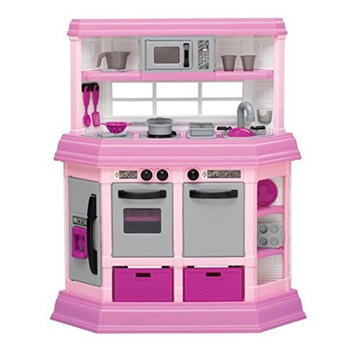 American Plastic Toys Custom Kitchen Play Set by American
