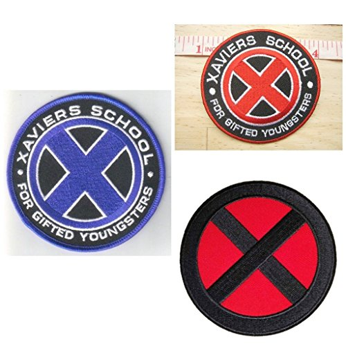 Ravenclaw Student Costume (Marvel Avengers Xavier School For Gifted students, Xmen Logo Patch Gift Set)