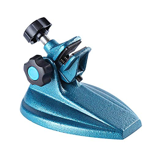 Micrometer Jade Carving Vice Bench Vise Small Fixed Clamp Clip Cast Base 90 Degree Flip