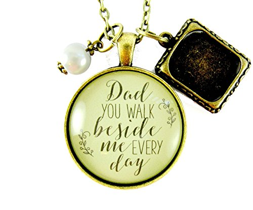 Memorial Necklace Vintage Pendant Jewelry product image