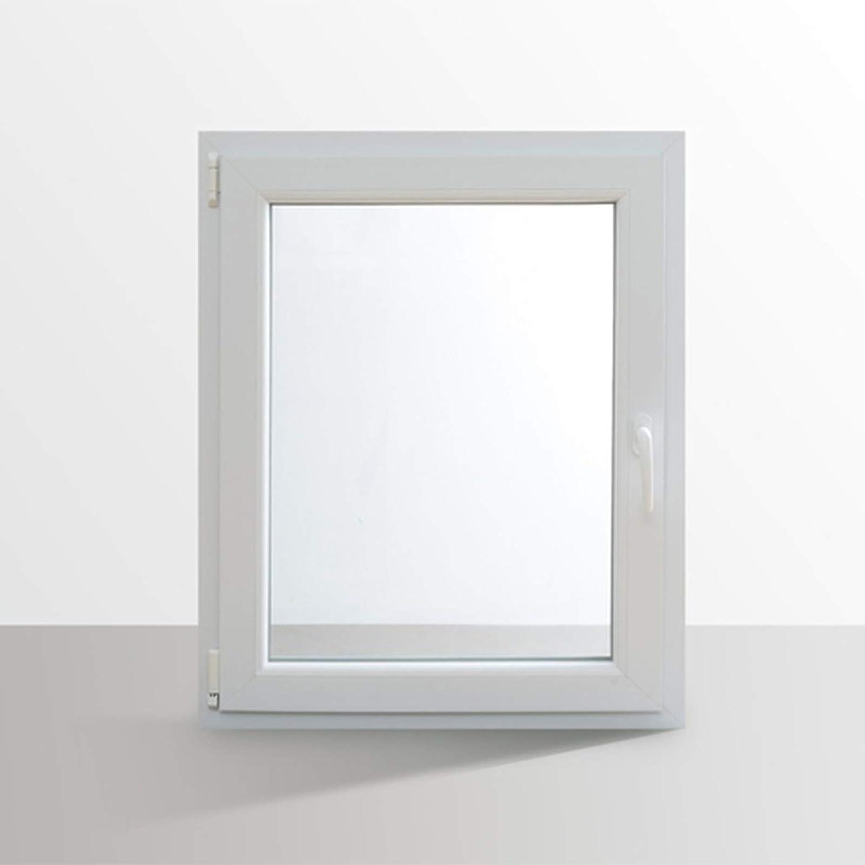 L/änge x Breite au/ßen anthrazit I DIN rechts I 800 x 800 mm HORI/® Dreh-Kipp Kunststoff-Fenster I 2-fach verglast I innen wei/ß