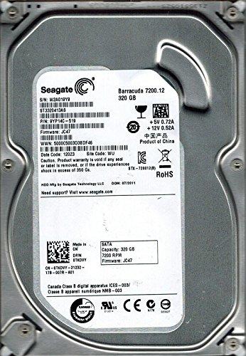 Seagate Barracuda 7200.12 ST3320413AS 9YP14C-519 JC47 WU PCB 100535704 REV C