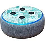 MightySkins Skin for Amazon Echo Dot (3rd Gen) - Faith | Protective, Durable, and Unique Vinyl Decal wrap Cover | Easy to Apply, Remove, and Change Styles | Made in The USA