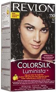 Revlon Colorsilk Luminista Black (110), 4.4 Fluid Ounce