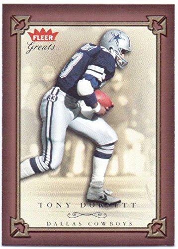 (Tony Dorsett 2004 Fleer Greats of the Game #44 - Dallas Cowboys)