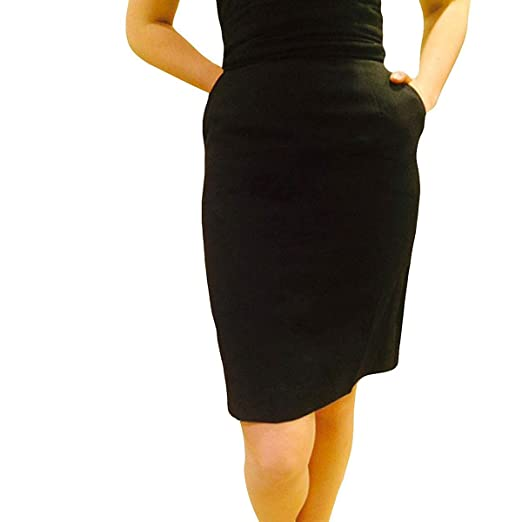 ef82f6ab98116e Broadway Tuxmakers Tuxedo Pencil Skirt, Womens Black Knee Length at ...