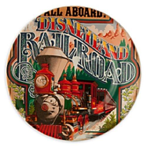 Disneyland Railroad Plate