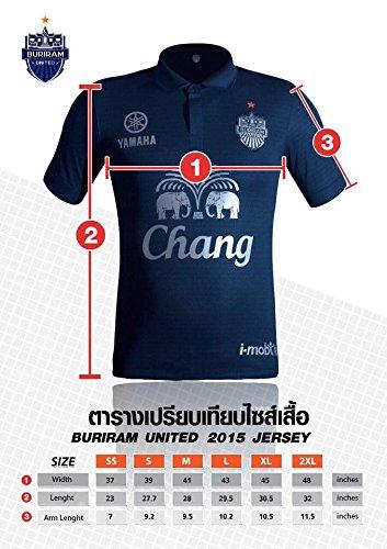 Buriram United Tailandia Kits de fútbol Fútbol Jersey Camiseta - Camiseta 2016: Amazon.es: Deportes y aire libre