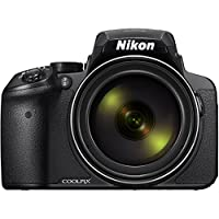 Nikon COOLPIX P900 16MP Zoom Digital Camera with 83x Optical Zoom, Built-in Wi-Fi and NFC (Black) (Certified Refurbished) by Nikon