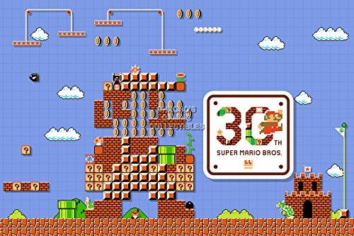 CGC Huge Poster - Super Mario Maker - Nintendo Wii U - SMM007 (16' x 24' (41cm x 61cm))