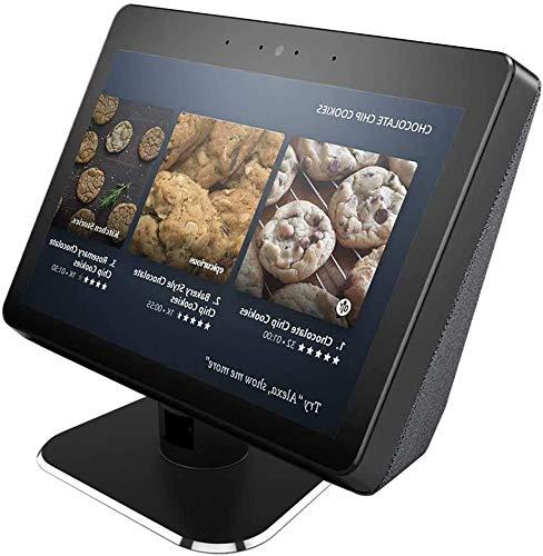 Aluminum Swivel Stand for Echo Show 2nd Adjustable Stand Make for Amazon Echo Show Horizontal 360 Rotation Longitudinal…