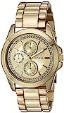 Geneva Women's FMDJM123 Analog Display Quartz Gold Watch
