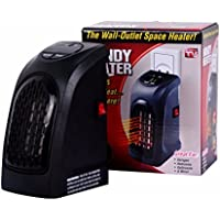 Wall-Outlet Space Heater For Home&Office, Adjustable thermostat from 15-32 ℃ .12-Hour programmable timer .high & low speed settings