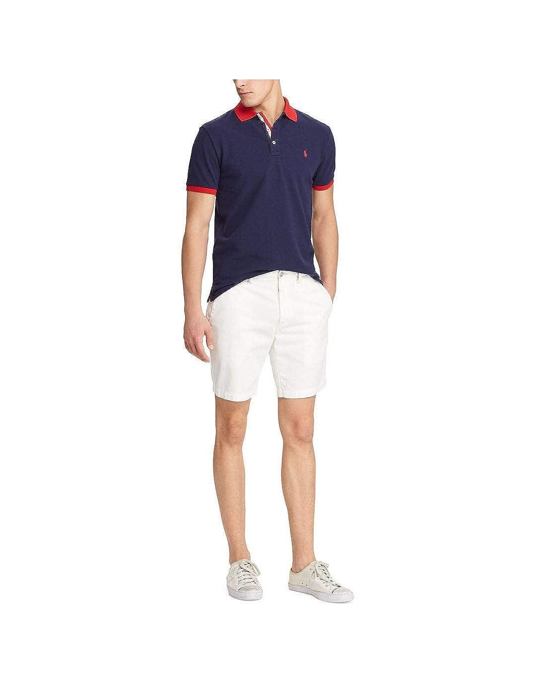 Polo Ralph Lauren Maglia hommes Mod. 710-752591 bleu Navy XXL