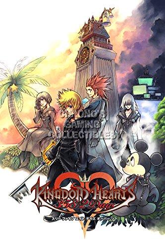 Kingdom Hearts CGC Huge Poster Glossy Finish 358/2 Days Nintendo DS - KHT002 (24
