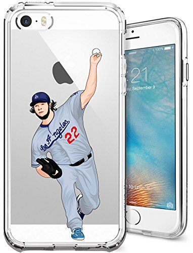 iphone-5-5s-se-case-chrry-cases-ultra-slim-crystal-clear-mlb-player-clayton-kershaw-soft-transparent