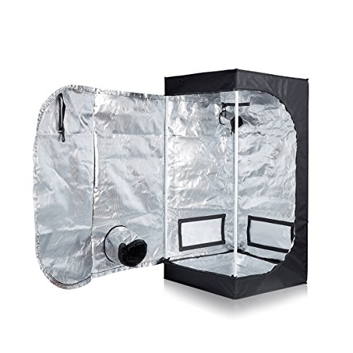 $50.88 New TopoLite 24″x24″x48″ Grow Tent for Hydroponic Indoor Growing System Dark Room (24″x24″x48″) 2019