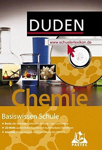 Duden Basiswissen Schule, m. CD-ROM, Chemie