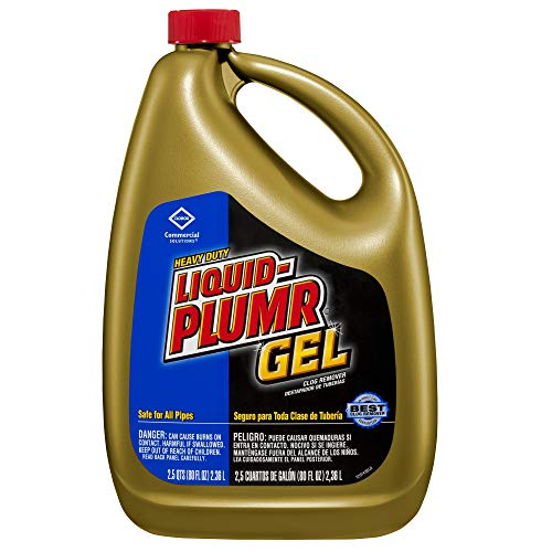 Liquid-Plumr Heavy Duty Clog Remover, 80 Ounces (35286) (Gel Max)