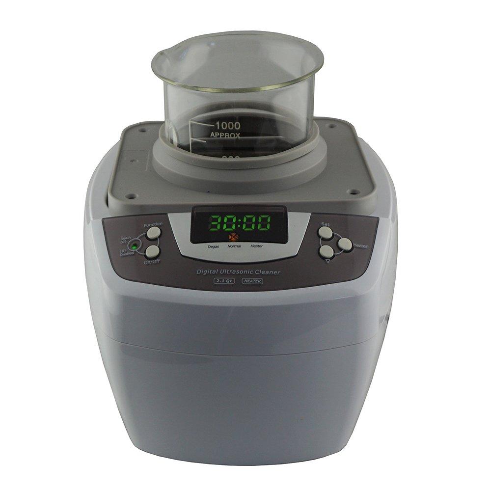 iSonic Ultrasonic Cleaner P4810, 2.1Qt/2 L, with 1000 ml Single Beaker Holder Set for DIY Liposomal Vitamin C by iSonic (Image #4)