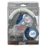 detroit lions freezer mug - NFL Detroit Lions Team Logo DJ Headphone