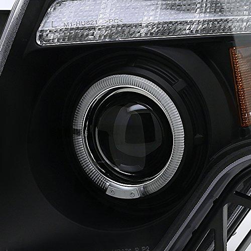 Spec-D Tuning 2LHP-EDG07JM-TM Black Projector Headlight Housing
