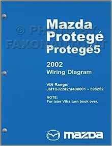 2002-2002.5 Mazda Protege Wiring Diagram Manual Original: Mazda:  Amazon.com: BooksAmazon.com
