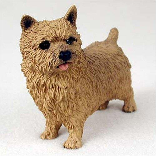 Norwich Terrier Original Dog Figurine (4in-5in)