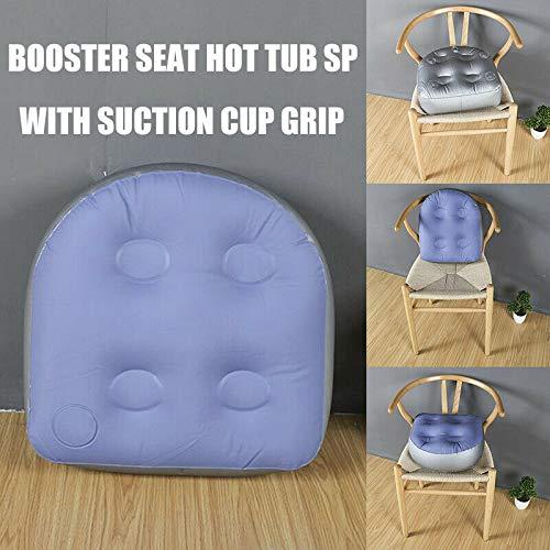 Spa Booster Sitz Saugnapf Grip Whirlpool Spas Kissen Aufblasbare Erwachsene Kind