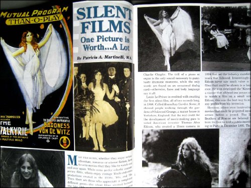 Antiques & Collecting Magazine January 2011 Hollywood Film Costumes, Roseville Pottery, Silent (Silent Film Era Costume)