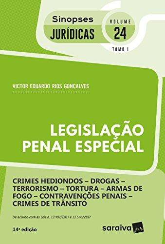 Legislação Penal Especial - Volume 24. Tomo I. Coleção Sinopses Jurídicas