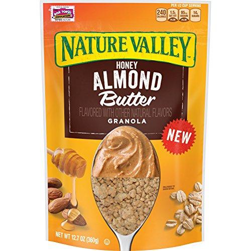 Honey Almond Butter - Nature Valley Honey Almond Butter Granola, 12.7 oz