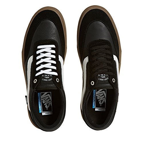 Vans White Gilbert Basket Gum P Crockett M Black ZMKf7M