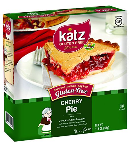 Katz Gluten Free Cherry Pie, 11.5 Ounce, Certified Gluten Free - Kosher - Dairy, Nut & Soy free - (Pack of 6) (Free Pasty Recipes compare prices)