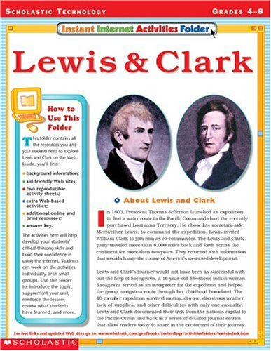 27716a8f Lese bok Instant Internet Activities Folder: Lewis & Clark Last ned ...
