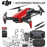 DJI Mavic Air Drone Quadcopter (Flame Red) + DJI Goggles FPV Headset VR FPV POV Experience Starters Bundle