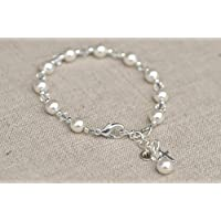 First Communion Girl Gift | First Communion Bracelet | Rosary Bracelet | Communion Gift