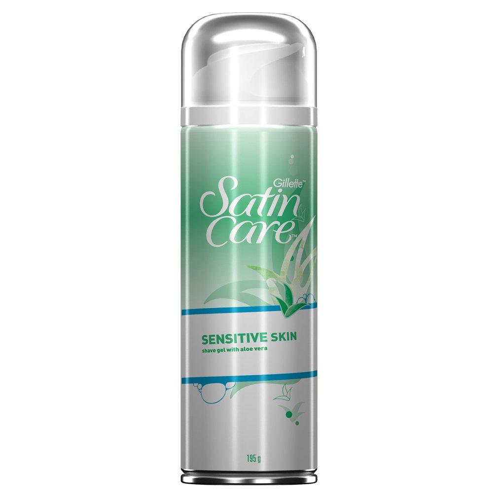 Gillette Satin Care Sensitive Skin Women's Shaving Gel, 200 ml Procter & Gamble 2172799
