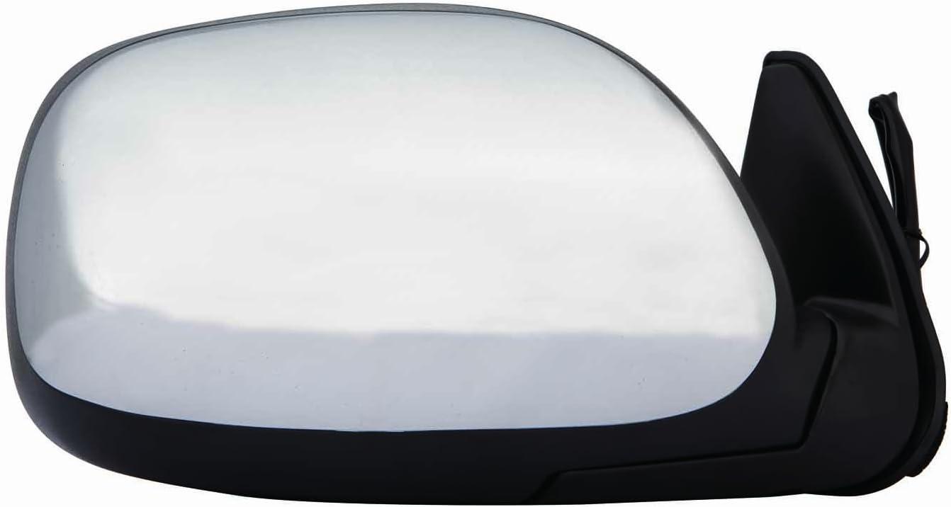 Depo 312-5409R3EC Chrome Passenger Side Power Non-Heated Mirror