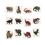 Fun Express Dinosaur Temporary Tattoo Stickers - 72 Pieces