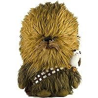 Star Wars 24-inch Talking Chewbacca & 6-inch Porg Plush Toy