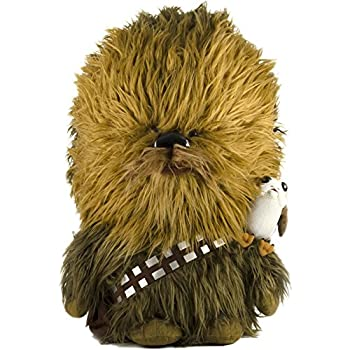 "Star Wars: The Last Jedi, 24"" Talking Chewbacca & 6"" Porg Plush Toy [Amazon Exclusive]"