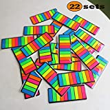 Creatiburg Sticky Flags Assorted Color Combo