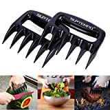 Meat Claws Shredder Paw Tool - Suptempo 2 Pcs / Set Durable Wolverine Claw BBQ Grill Tools For Carving, Handling, Lifting, Cut Pork Beef Chicken and Other Meats