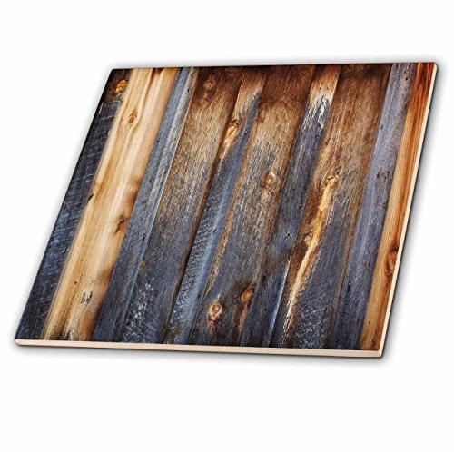 4 Tile Wood Tray - 7