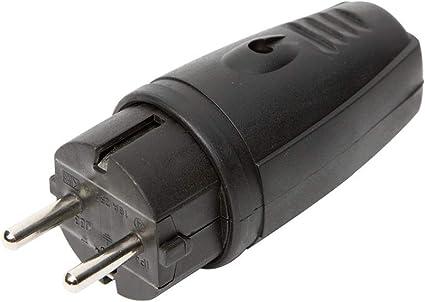 Bo-Camp 8518282 Rubber Plug 16A Unisex Adult Black