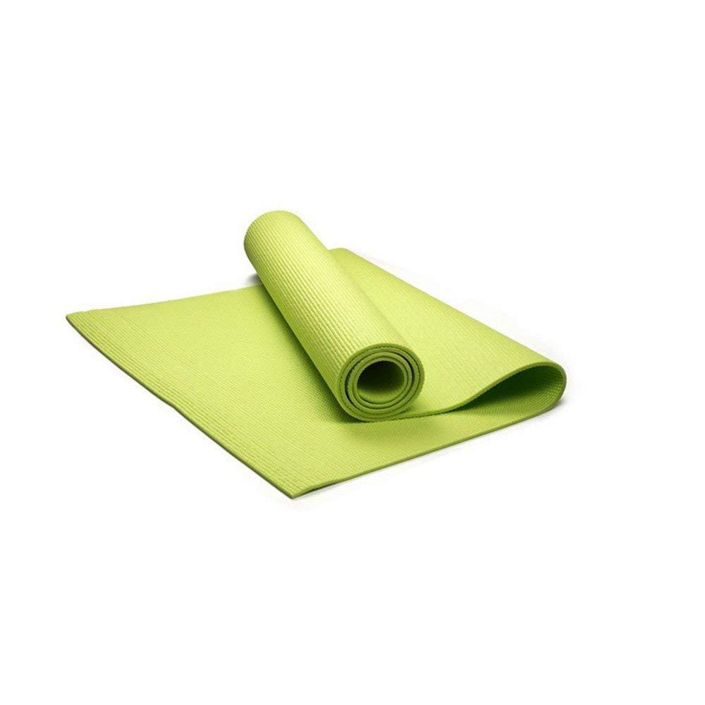 FORTR Home 6mm grüne Gummi-Yoga-Matte Gummi umweltfreundliche und köstliche Fitness-Matte